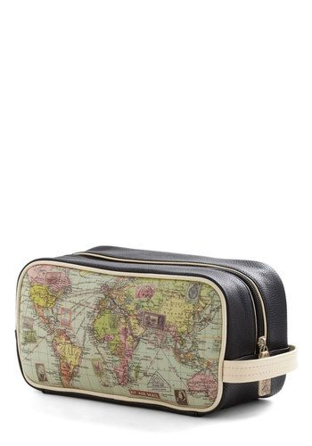 Cargo for It Map Travel Bag, #ModCloth