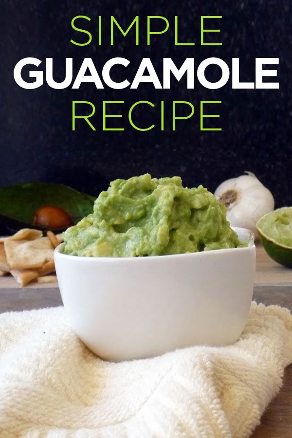Easy Guacamole Recipe With Lime Recipe — Dishmaps
