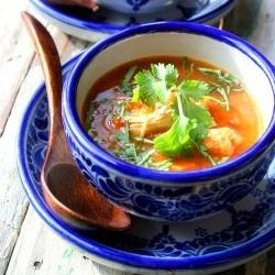 Spicy Chicken Peanut Soup | Yummy yums! | Pinterest