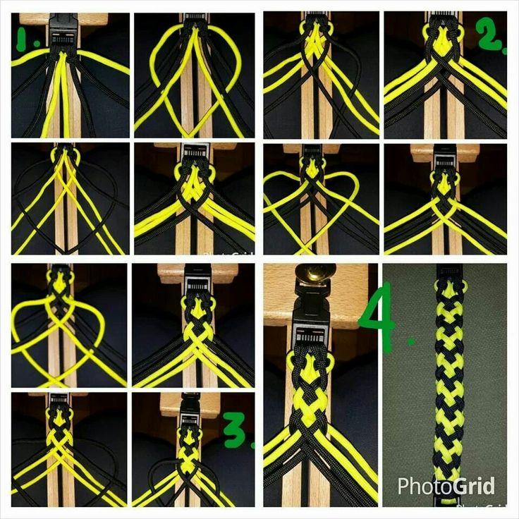 Браслет из паракорда своими руками схемы плетения инструкция 185