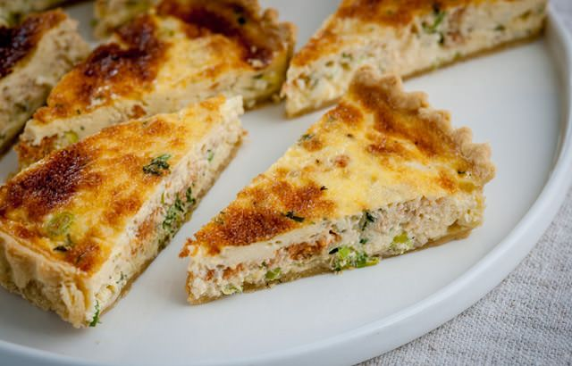 Crab & Cheddar Tart. This savoury crab tart recipe combines crab meat ...