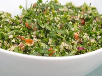 Cauliflower Tabbouleh #paleo | Healthy yumms!! | Pinterest