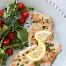 Chicken Francese - Lightened Up | Chicken! Chicken! Chicken! | Pinter ...