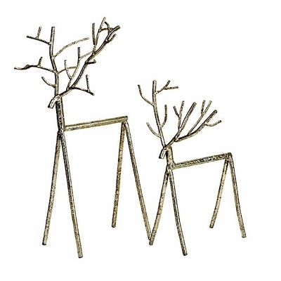 Winter Reindeer Stick Figures   For the Home   Pinterest