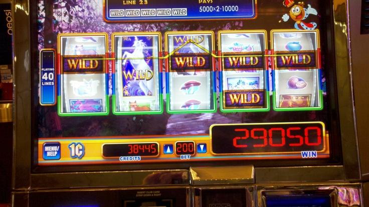 payout casino slot machines