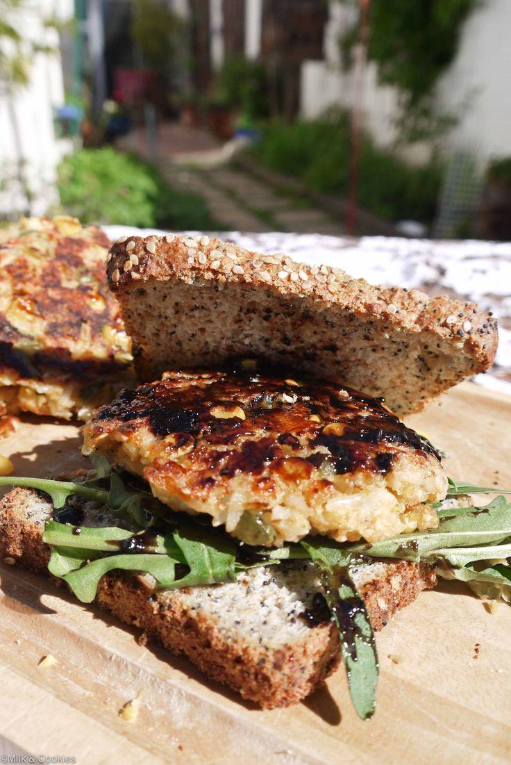 Homemade Veggie Burger. | Veggie burgers | Pinterest