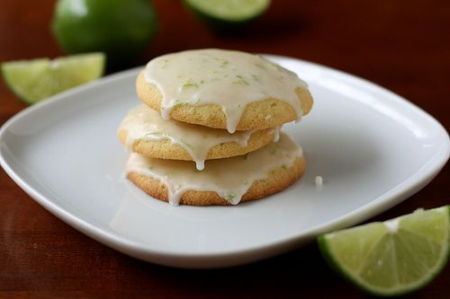 Cornmeal Lime Cookies by Completely Delicious, via Flickr
