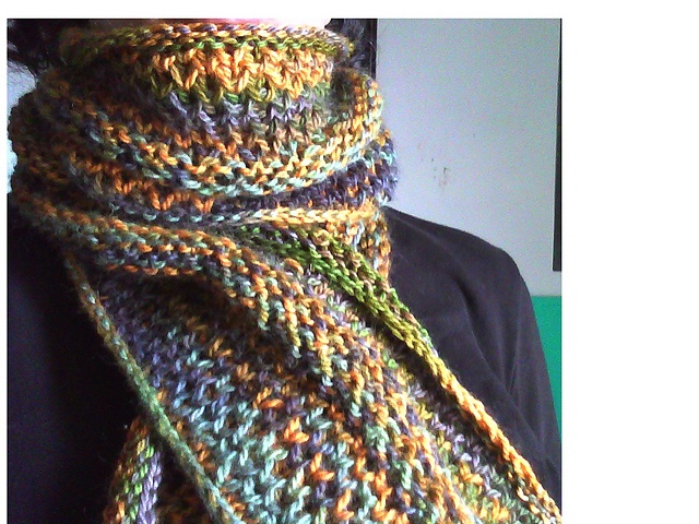 Knitting Brioche Stitch Scarf : Honeycomb Brioche Scarf pattern by Wendy Lindquist
