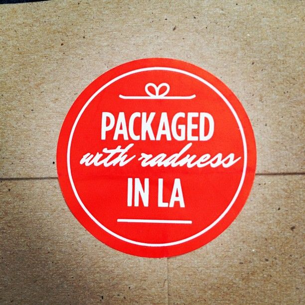 Packaged (with radness) in LA