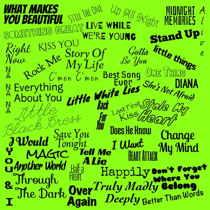 One Direction Song Lyrics Wallpaper One direction lyrics