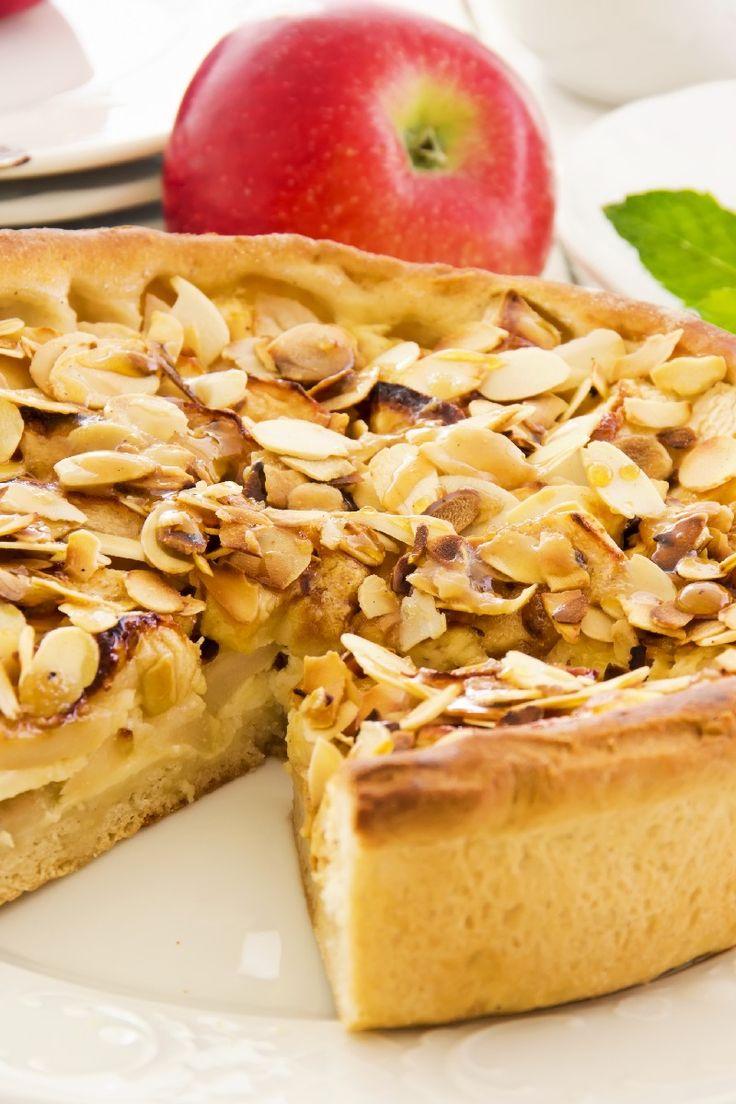 Apple Bavarian Torte Recipe | PIES | Pinterest