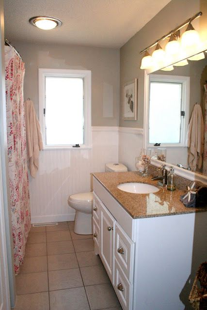Bathroom Remodel No Tub : No more pink tile bathroom remodel try this at home