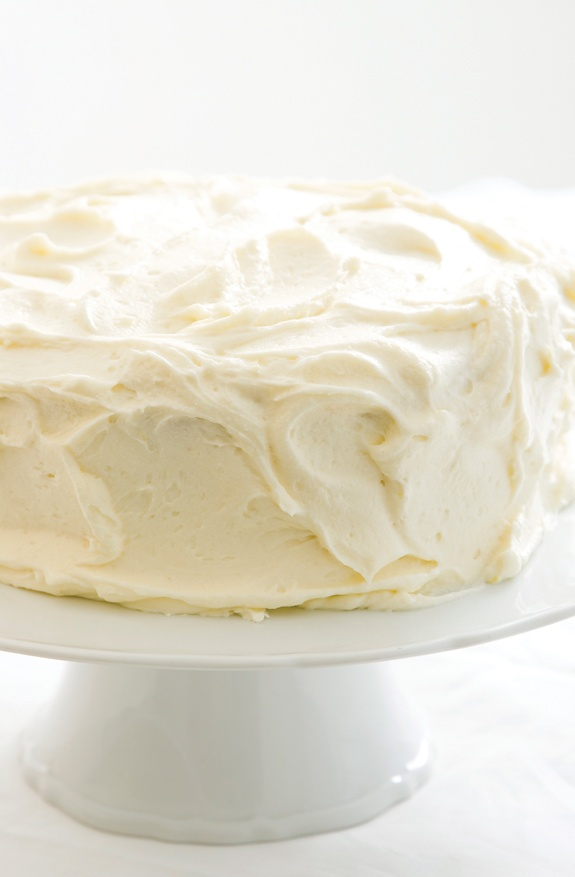 lemon cake w cream cheese frosting | Oh yum! | Pinterest