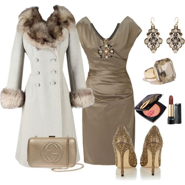 """Winter Wedding Part Deux"" by dologem on Polyvore"