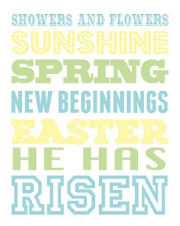 Easter printable.