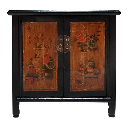 Chinese cabinet | Painted furniture | Pinterest