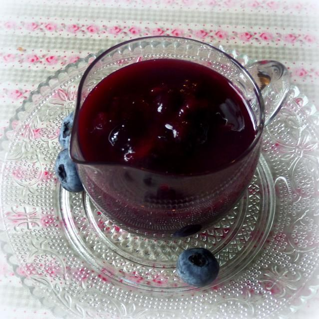 Spicy Blueberry Saucefrom The English Kitchen