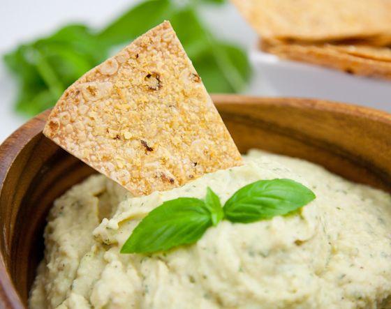 Fresh Basil Cannellini Bean Dip | Snack Attack | Pinterest