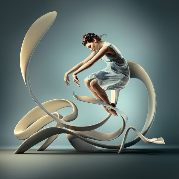 MOTION in Air by Mike Campau  photography + 3D