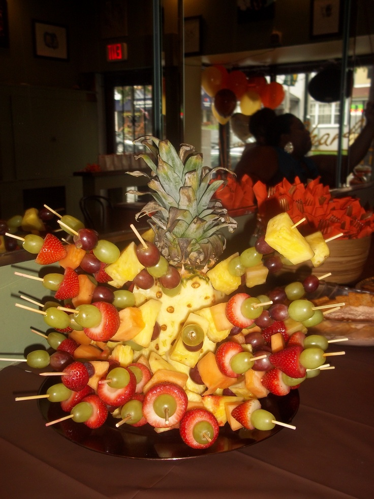 Fun Fruit Kabobs | Eventdecor1984 | Pinterest