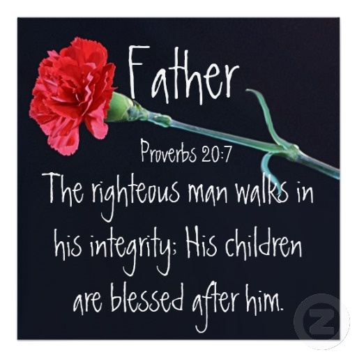 father day scripture verses kjv