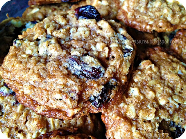 White Chocolate Cherry Oatmeal Cookies from Life's Simple Measures ...