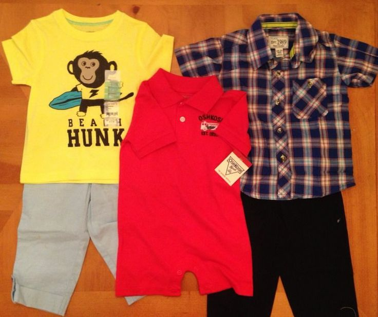 Baby Boys Clothes Huge Lot 18 24 Months NWT Name Brands