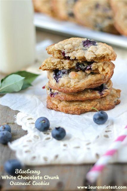 White Chocolate-Chunk Cookies Recipe — Dishmaps