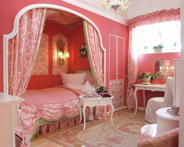 Enchanting Cute Girls Princess Bedroom Ideas - plusarquitectura.info