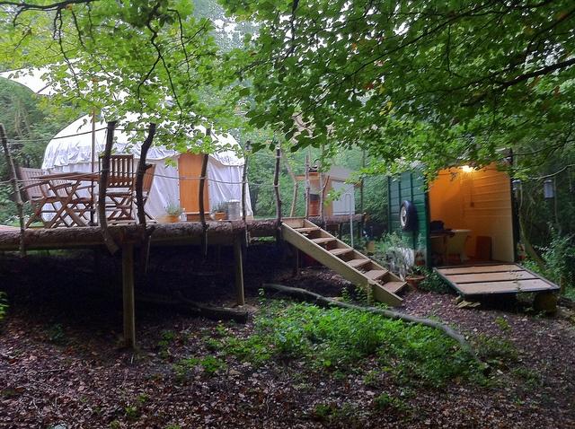Yurt bathroom yurts to die for pinterest for Yurt bathroom designs