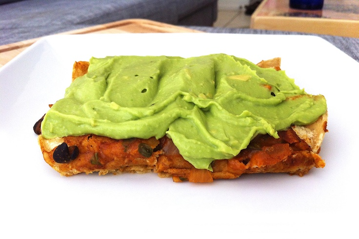 ... to Create: Enchiladas with Avocado Lime Cream Sauce #vegan #enchiladas
