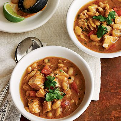 White Bean and Turkey Chili Using canned beans and chicken broth make ...