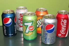 A can of soda pop can be used to wash your hands if you don't have access to soap and water. Just pour a little pop on your hands and rub them together just as you would with soap.