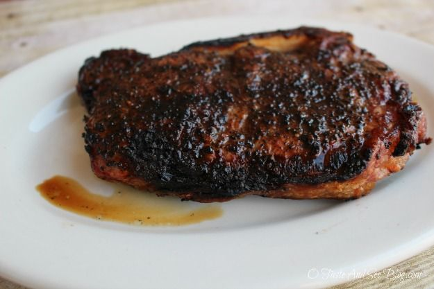Coffee Rubbed Steak | Recipes - Entrees | Pinterest