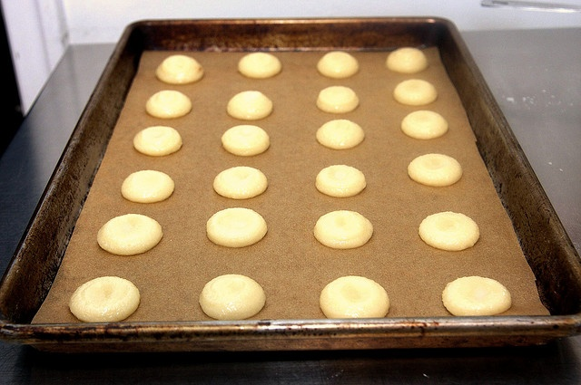 chewy amaretti cookies - but with 3/4 not 1 cup sugar