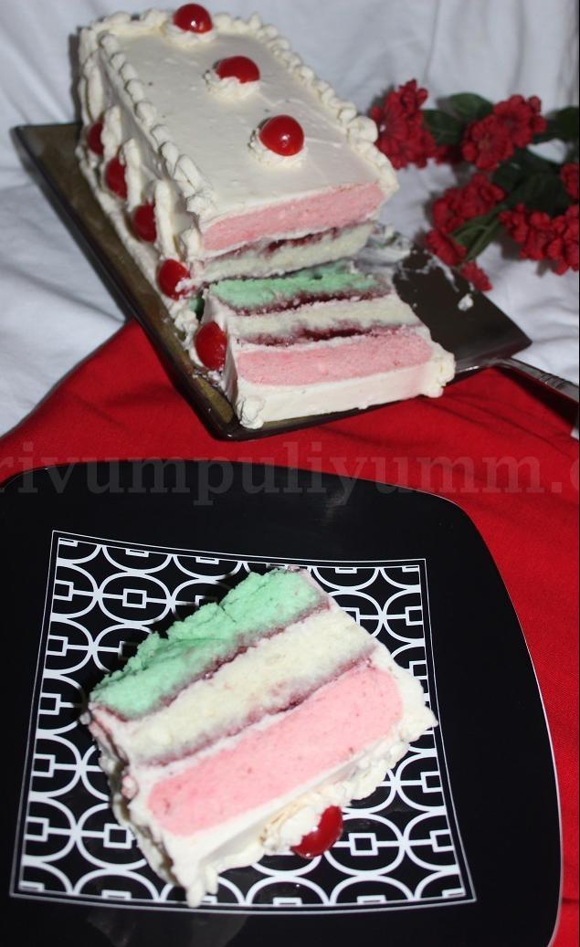 erivumpuliyumm.com: Neapolitan Christmas Cake