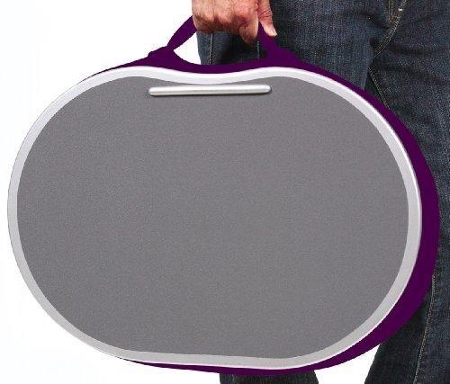 Sofia + Sam Ergonomic Lap Desk, Purple (4581) Memory Foam providing a