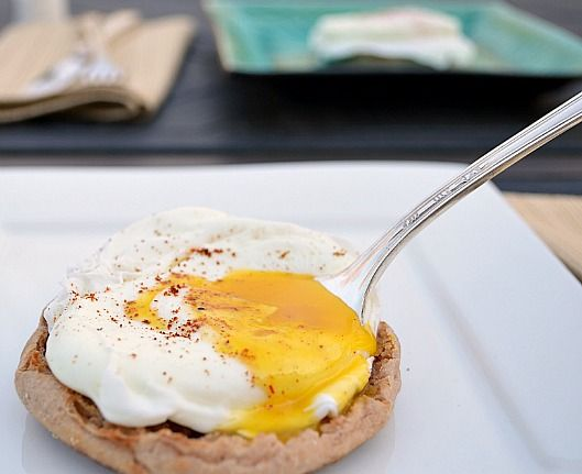 Poached Egg On Toast With Chipotle Mayonnaise Bacon And Avocado ...