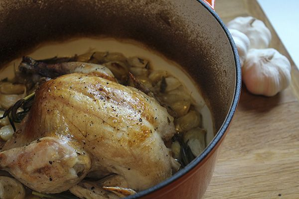 Chicken with Forty Cloves of Garlic | Chicken | Pinterest