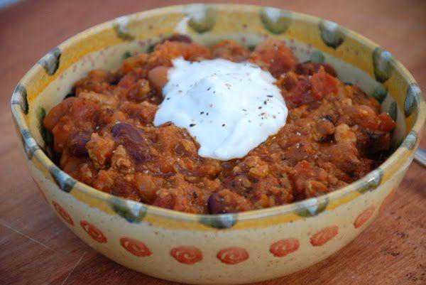 Turkey-Squash Chili | yummy in my tummy | Pinterest