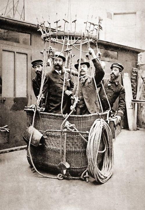 Ballooners, 1895, France
