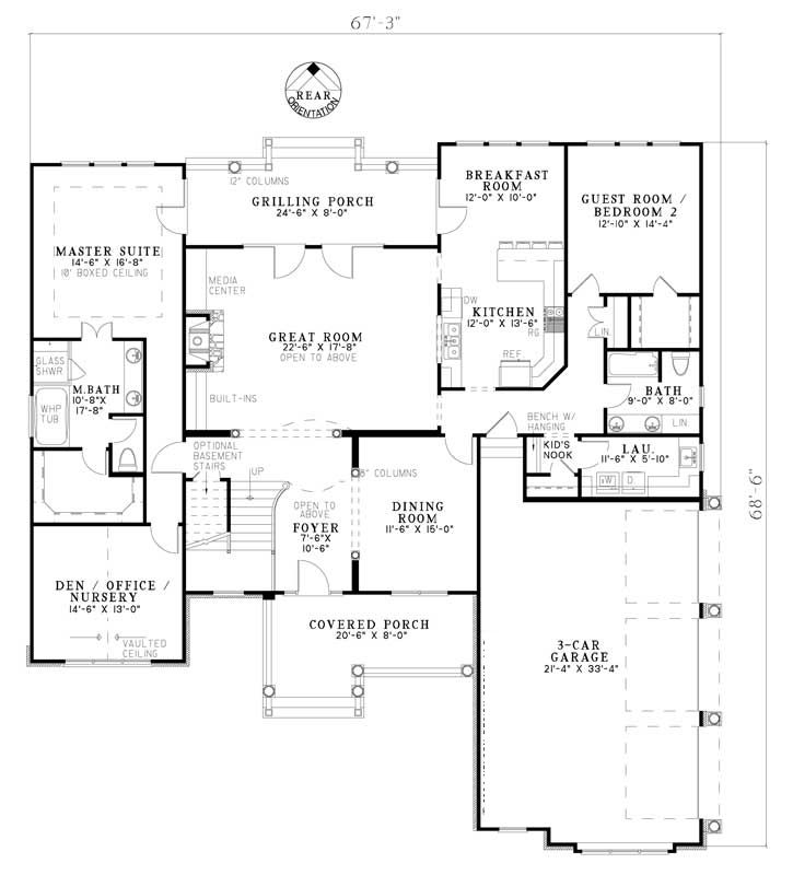 Pin by smayes on floorplans pinterest for Thehousedesigners com home plans