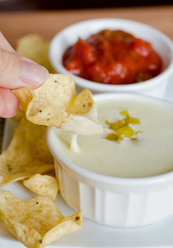 mmmm...Queso Blanco dip from Pennies on a Platter