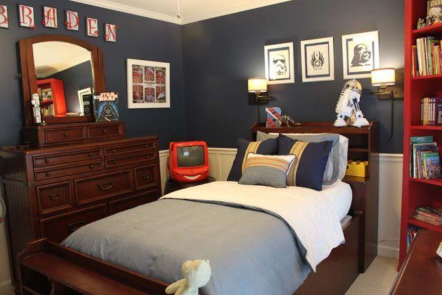 Star wars room ideas for kids 1 pinterest for Boys star wars bedroom ideas