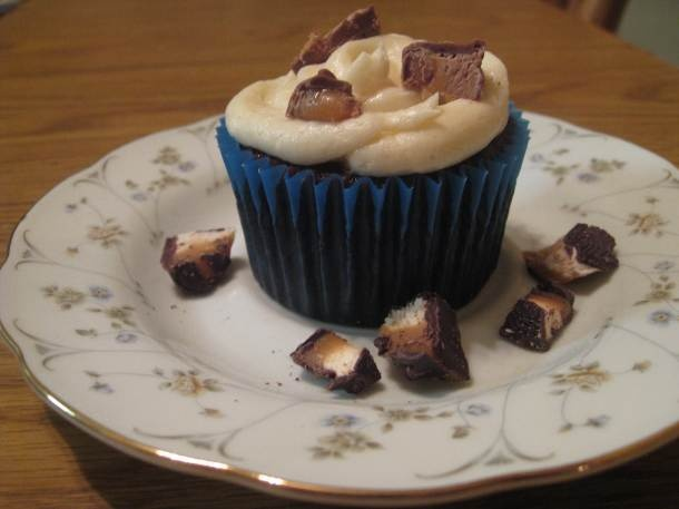 Milky Way Cupcakes