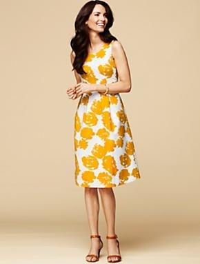 Talbots rose print dress dresses pinterest for Talbots dresses for weddings