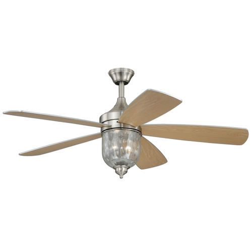 """Turn The Century Cosmos 52"""" 2 Light Ceiling Fan at"""