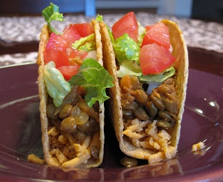 The Snarky Chickpea: Spicy Lentil Tacos | Vegetarian | Pinterest