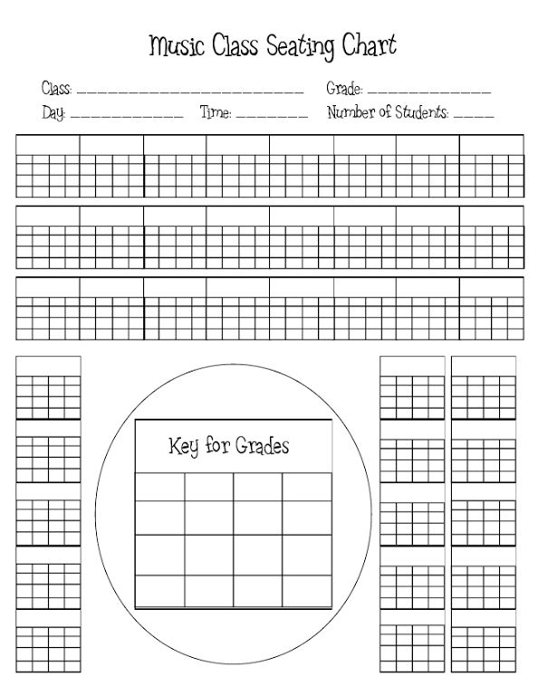 Elementary Classroom Seating Chart : Music class seating chart ii classroom ideas