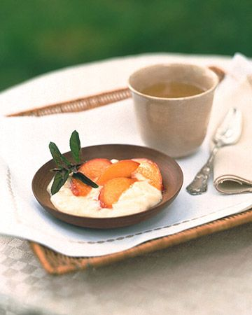 Old-Fashioned Tapioca with Sauteed Nectarines - Martha Stewart Recipes